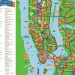 Great Things To Do With Kids Children Interactive Colorful New York   Nyc Tourist Map Printable