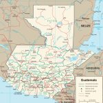 Guatemala Maps | Maps Of Guatemala   Printable Map Of Guatemala
