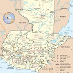 Guatemala Road Map   Printable Map Of Guatemala