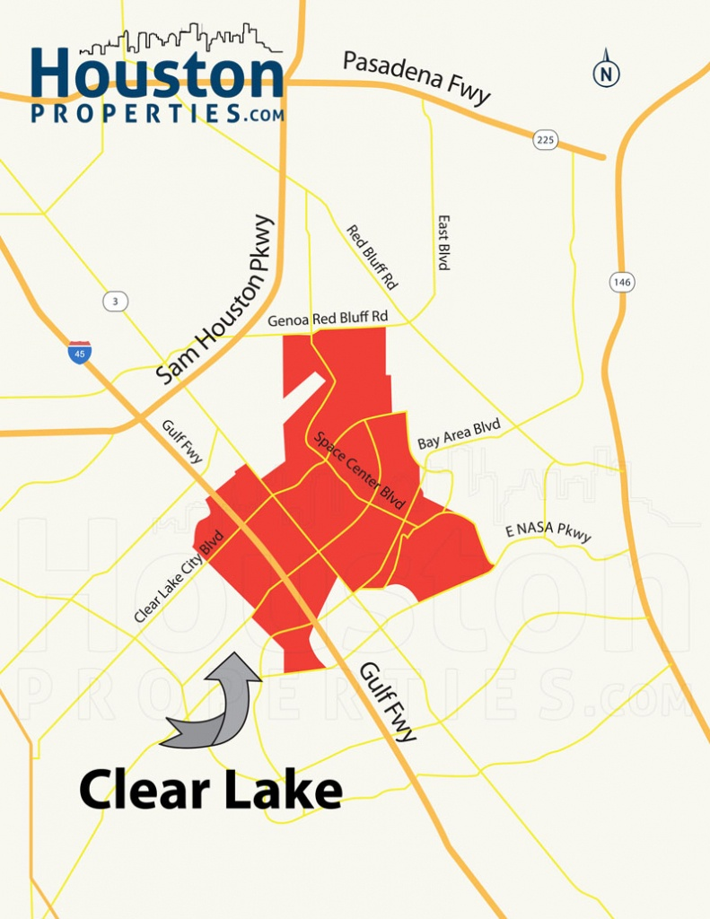 Guide To Clear Lake Houston Tx   Clear Lake Homes For Sale - Clear Lake Texas Map