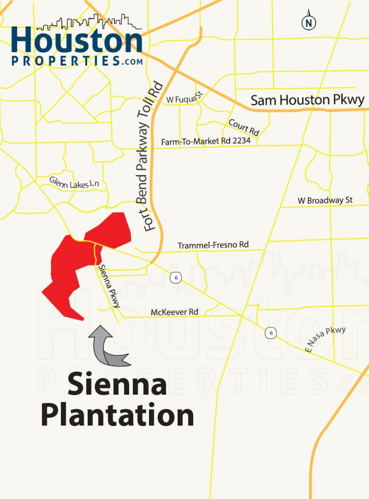 Guide To Sienna Plantation Tx: Homes, Schools, Amenities & Flooding - Sienna Texas Map