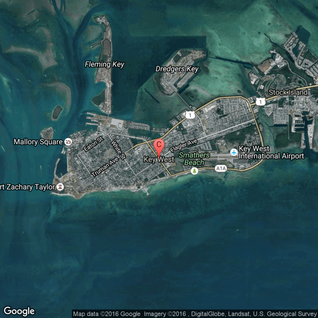 Guided Walking Tour Of Historic Key West | Usa Today - Google Maps Key West Florida