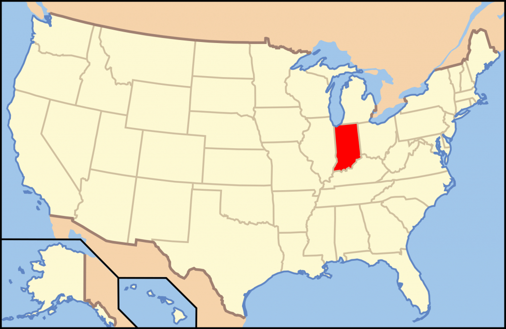 Gun Laws In Indiana - Wikipedia - Florida Non Resident Ccw Reciprocity Map