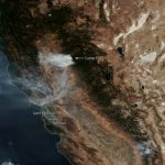 Gusty Offshore Winds Continue To Fuel California Wildfires | Noaa   California Wildfire Satellite Map
