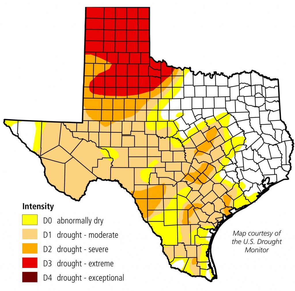 Hale County Draws Near To Burn Ban - Plainview Daily Herald - Burn Ban Map Of Texas
