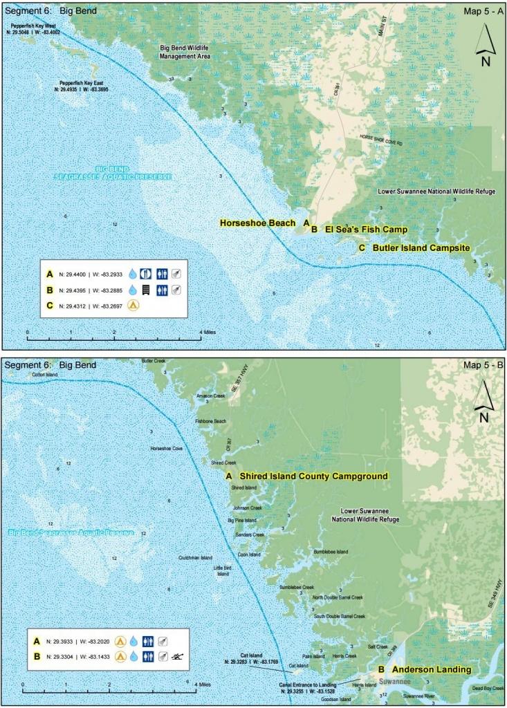 Halfway Point To Anderson Landing - Florida Circumnavigational - Florida Saltwater Fishing Maps
