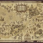 Harry Potter Map | Treasure Map Inspiration | Harry Potter Free   Free Printable Marauders Map