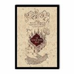 Harry Potter   The Marauder's Map   Poster Print Art, Licensed   Harry Potter Marauders Map Printable