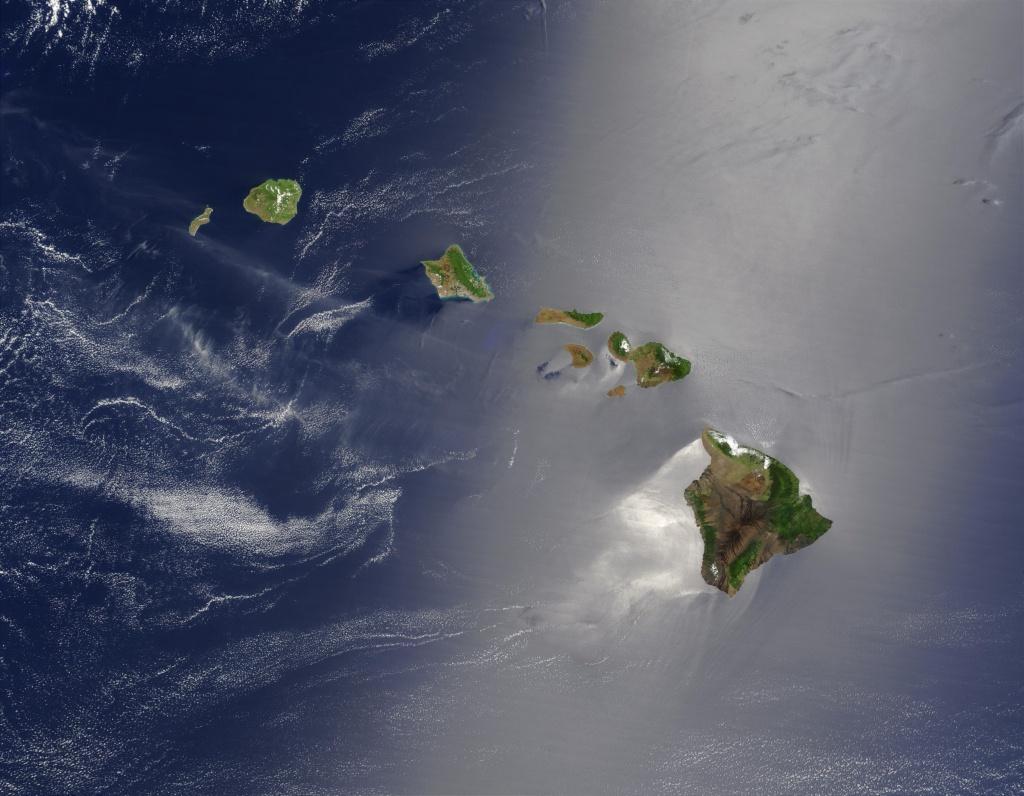 Hawaiian Islands - Wikipedia - Map Of Hawaiian Islands And California