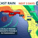 Heavy Rain, Possible Flooding This Weekend   Florida Storms   Emerald Coast Florida Map