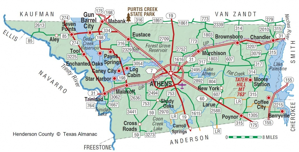 Henderson County Texas Map | Business Ideas 2013 - Van Zandt County Texas Map