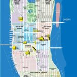 High Resolution Map Of Manhattan For Print Or Download | Usa Travel   Printable Street Map Of Manhattan Nyc