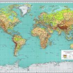High Resolution Printable World Map   Yahoo Search Results Yahoo   Large Printable World Map Labeled