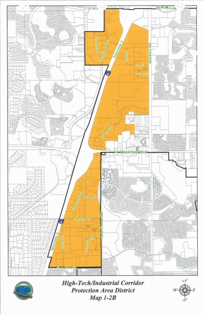 High-Tech/industrial Corridor | Lake Mary, Fl - Map Of Lake Mary Florida And Surrounding Areas