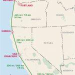 Highway 1 California Road Trip Map | Secretmuseum   Map Of Hwy 1 California Coast