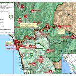 Highway 1 Conditions In Big Sur, California   Route 1 California Map