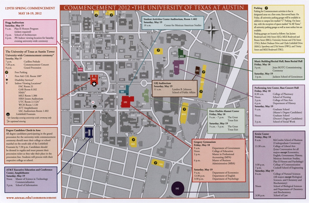 Historical Campus Maps University Of Texas At Austin - Perry - University Of Texas Football Parking Map 2016