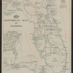 Historical Map Of Florida   Touchton Map Library   Aaa Maps Florida