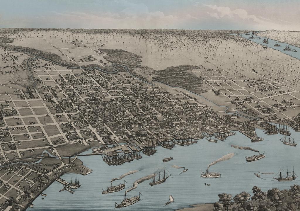 Historical Maps Of Florida - Historic Florida Maps