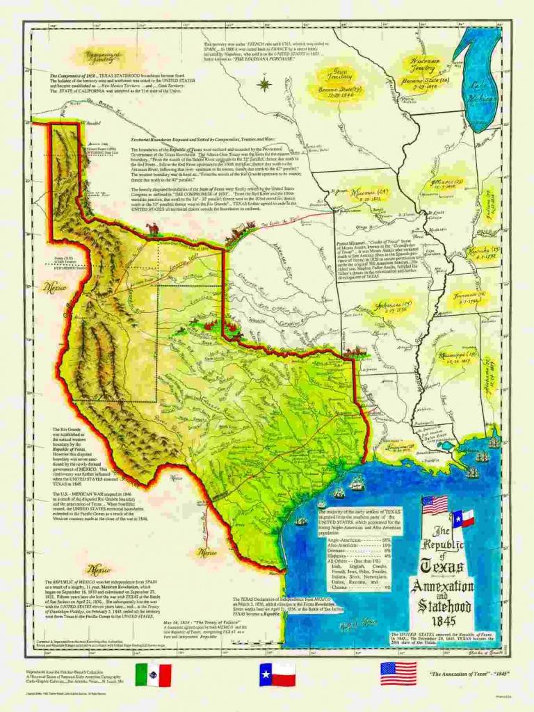 Historical Texas Maps, Texana Series - Texas Map 1850