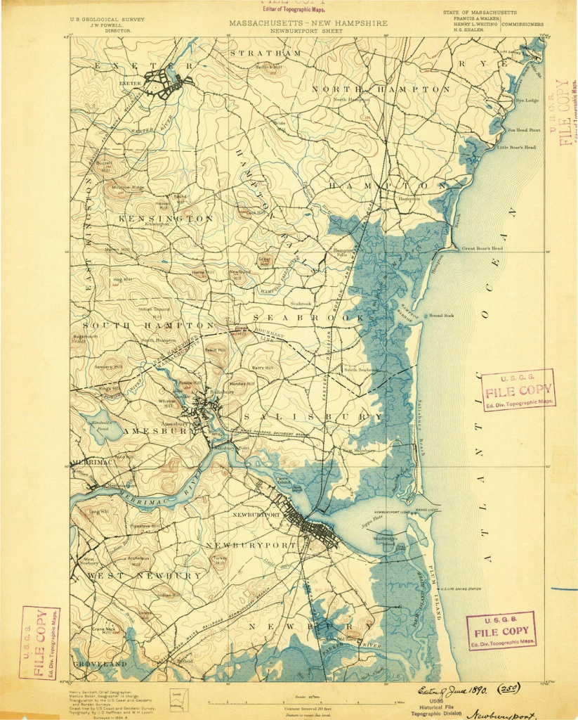 Historical Topographic Maps - Preserving The Past - Topographic Map Of Florida Elevation