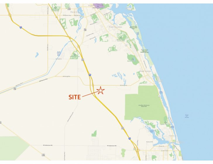 Map Of Florida Showing Hobe Sound