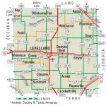 Hockley County | The Handbook Of Texas Online| Texas State   Where Is Lubbock Texas On The Map