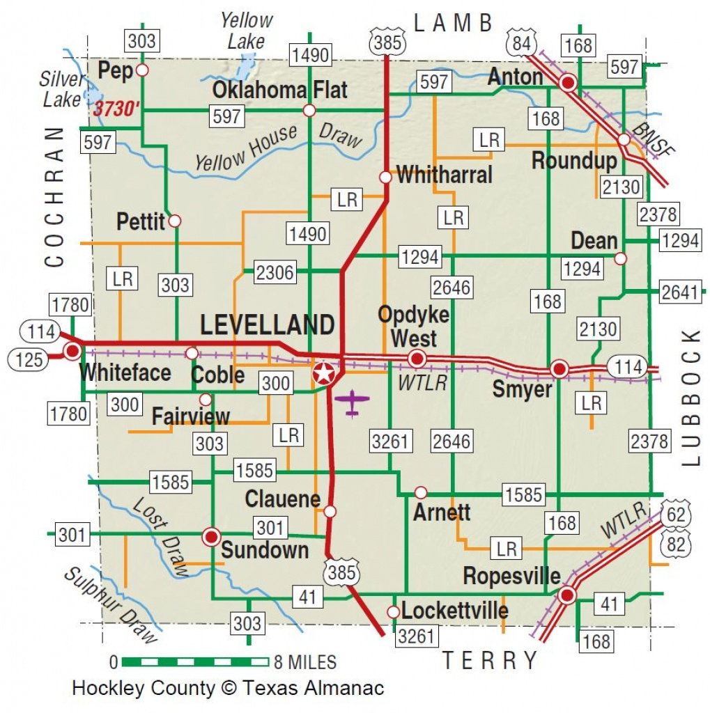 Hockley County | The Handbook Of Texas Online| Texas State - Where Is Lubbock Texas On The Map