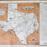 Hoffman & Walker's Pictorial, Historical Map Of Texas   Antique Maps   Antique Texas Map Reproductions