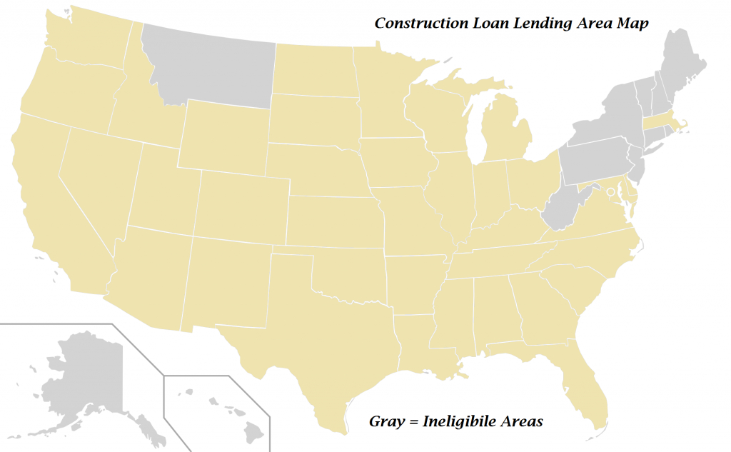 Home Construction Loans Available Texas | Construction, Renovation - Usda Loan Map Texas