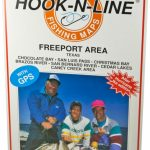 Hook N Line Map F127 Freeport Area Fishing Map (With Gps)   Austinkayak   Texas Kayak Fishing Maps