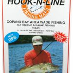 Hook N Line Map F133 Copano Bay Wade Fishing Map (With Gps   Texas Kayak Fishing Maps