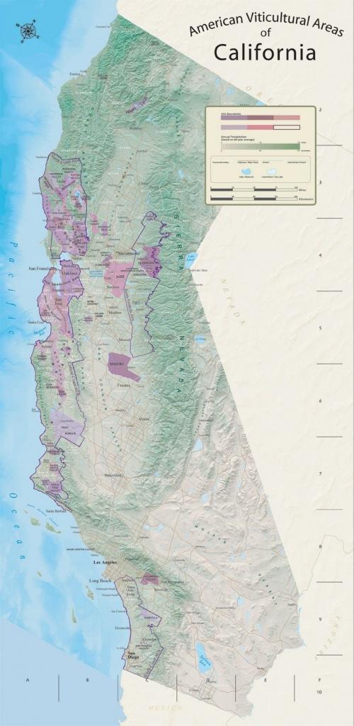 Hope Family Wines - Hope Family Wines: Maps - California Ava Map