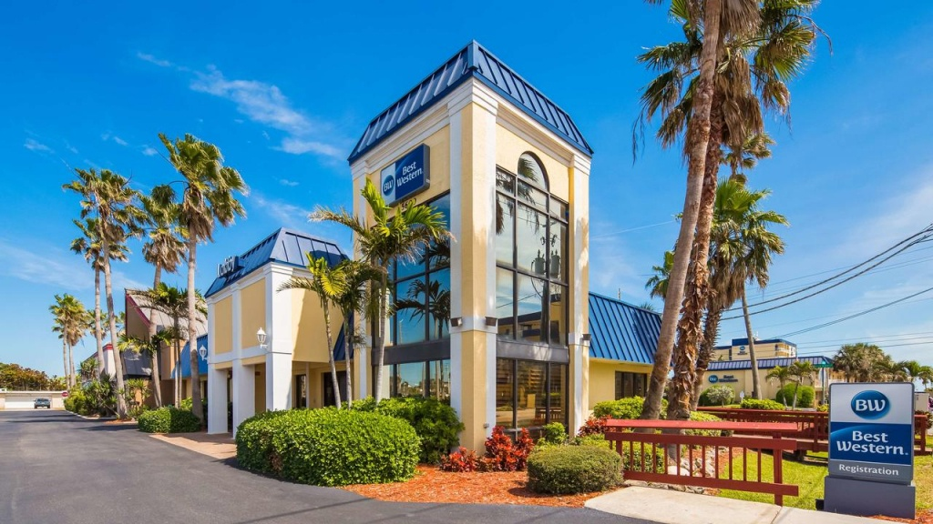 Hotel Best Western Cocoa Beach, Fl - Booking - Map Of Hotels In Cocoa Beach Florida