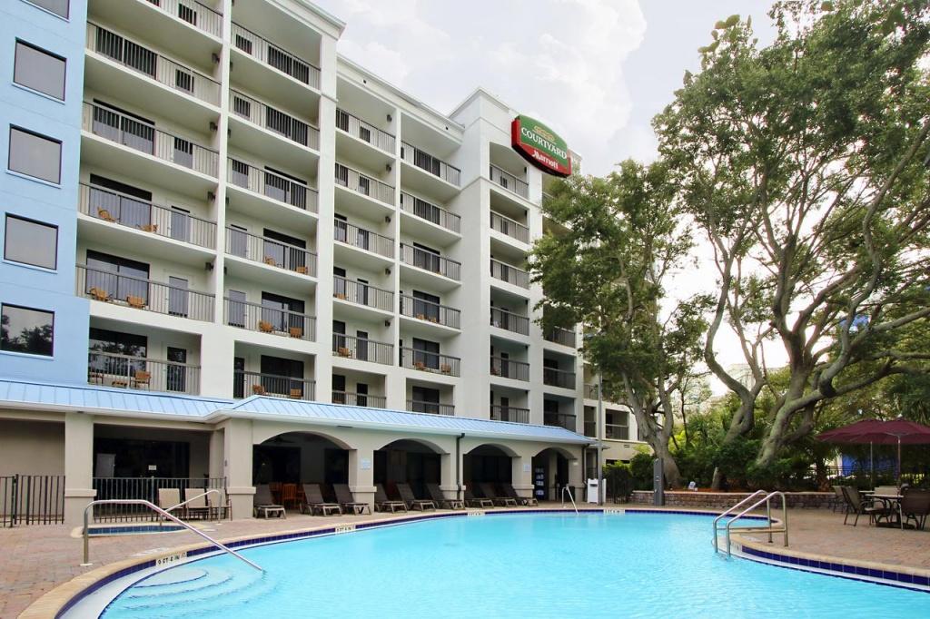 Hotel Courtyard Cocoa Beach, Fl, Fl - Booking - Map Of Hotels In Cocoa Beach Florida