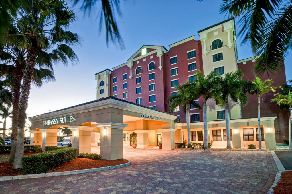 Hotel Embassy Ft Myers Estero, Fl - Booking - Embassy Suites In Florida Map