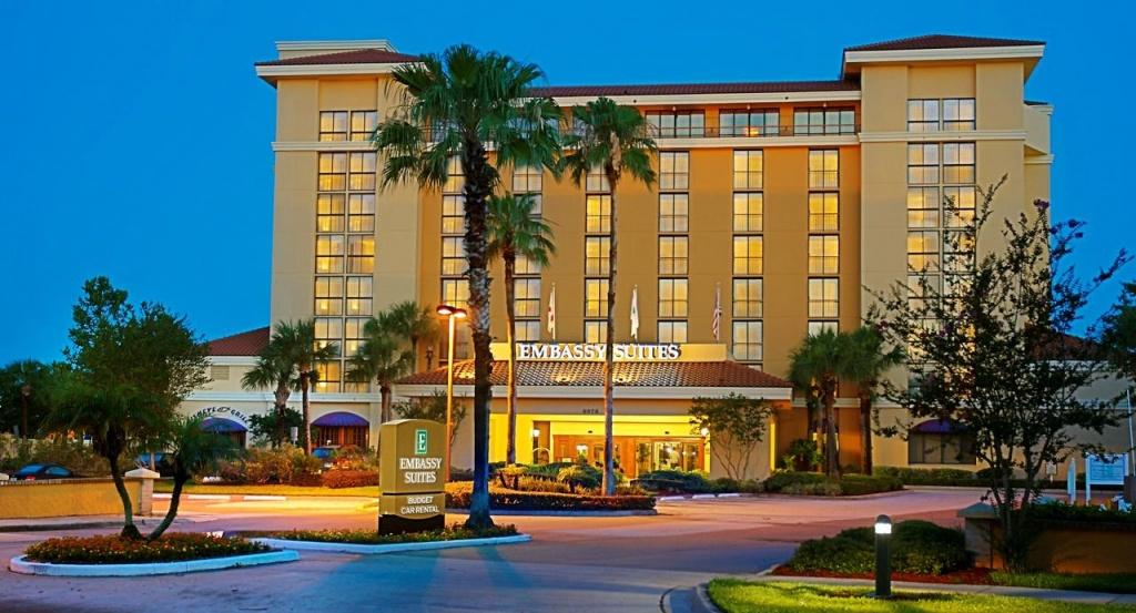 Hotel Embassy Suiteshilton Orlando, Fl - Booking - Embassy Suites Florida Locations Map