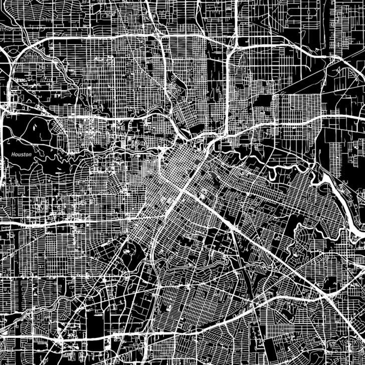 Downtown Houston Map Printable