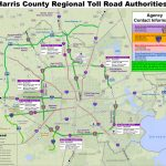 Houston Toll Road Map   Map Of Houston Toll Roads (Texas   Usa)   Texas Toll Roads Map