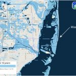How Hurricane Irma Could Be So Destructive To Florida | Temblor   Florida Underwater Map