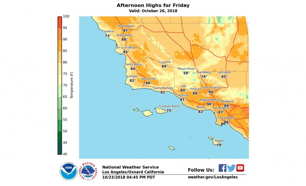 How Long Will The Heat Last In Southern California? – Orange County - California Heat Map