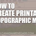 How To Create A Printable Topographic Map In Arcgis Pro   Youtube   How To Make A Printable Map