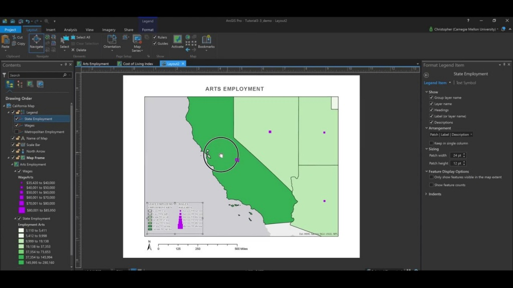 How To Create Printable Maps Using Layouts In Arcgis Pro. - Youtube - How To Create A Printable Map