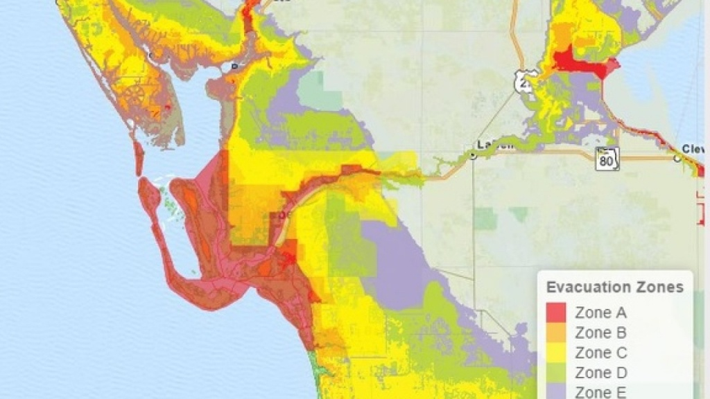 How To Find Which Florida Evacuation Zone You Live In - North Port Florida Flood Zone Map
