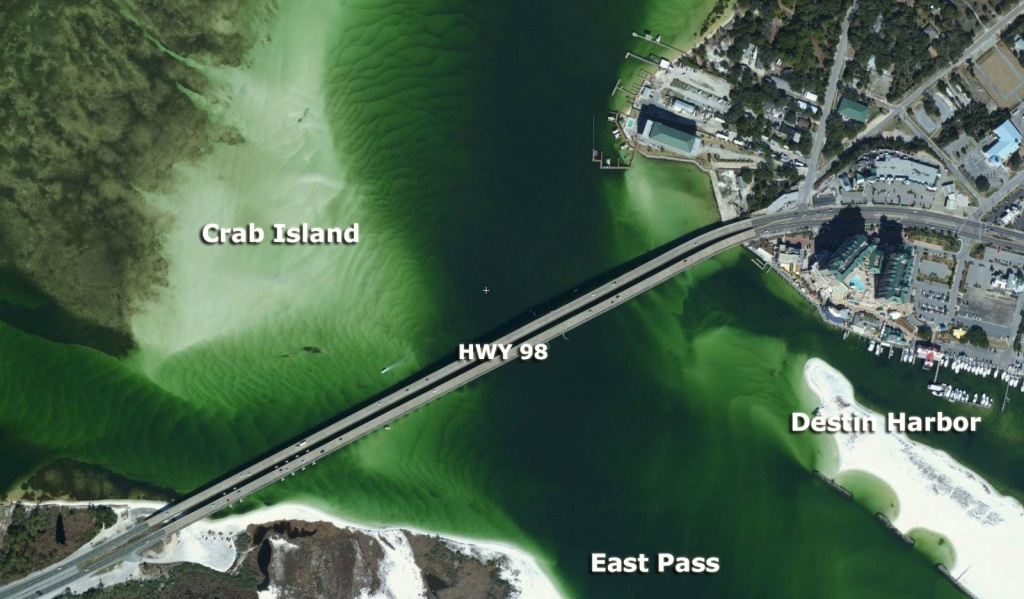 How To Get To Crab Island   My Crab Island Rentals, Tours & Things To Do - Crab Island In Destin Florida Map