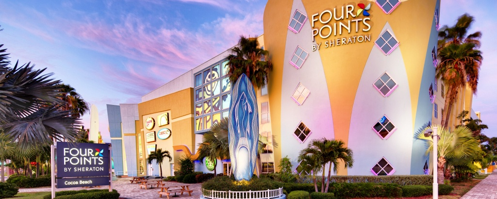 How To Get To Four Pointssheraton Cocoa Beach | Map Of Cocoa Beach - Map Of Hotels In Cocoa Beach Florida
