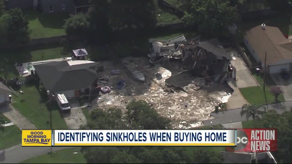 How To Identify If Your Home Is At Risk For A Sinkhole - Sinkhole Map Florida 2017