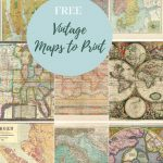 How To Make A Map Table An Ikea Hack | Maps | Map, Picture Boxes   How To Make A Printable Map