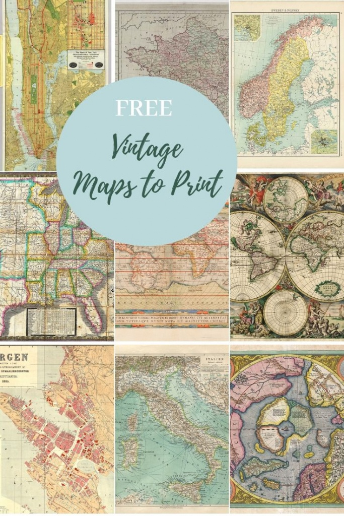 How To Make A Map Table An Ikea Hack | Maps | Map, Picture Boxes - How To Make A Printable Map