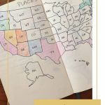 How To Make Maps In Your Bullet Journal | Bad With Directions   How To Make A Printable Map